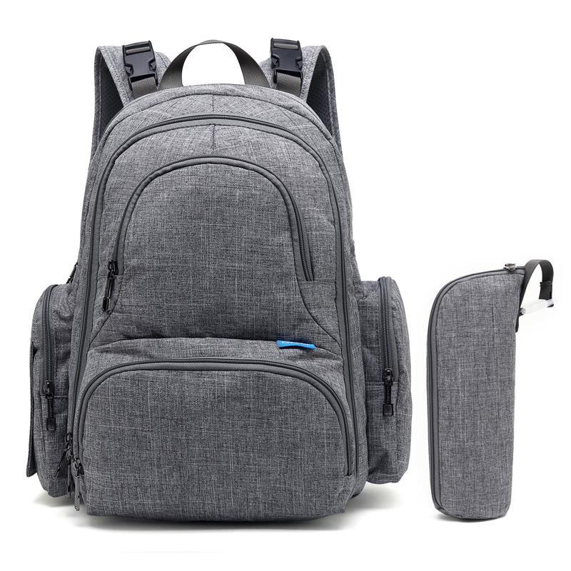 CoolBELL sac à dos à couches pour bébé sac à couches de maternité étanche avec matelas à langer poches isolées sac de soin multifonctionnel pour bébé