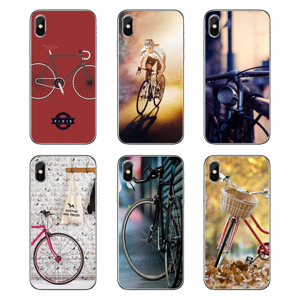 Us 099 Bicycle Times Wallpapers For Mobile For Xiaomi Redmi 4x S2 3s Note 3 4 5 6 6a Por Pocophone F1 Mi 6 Tpu Transparent Cases Covers In Fitted