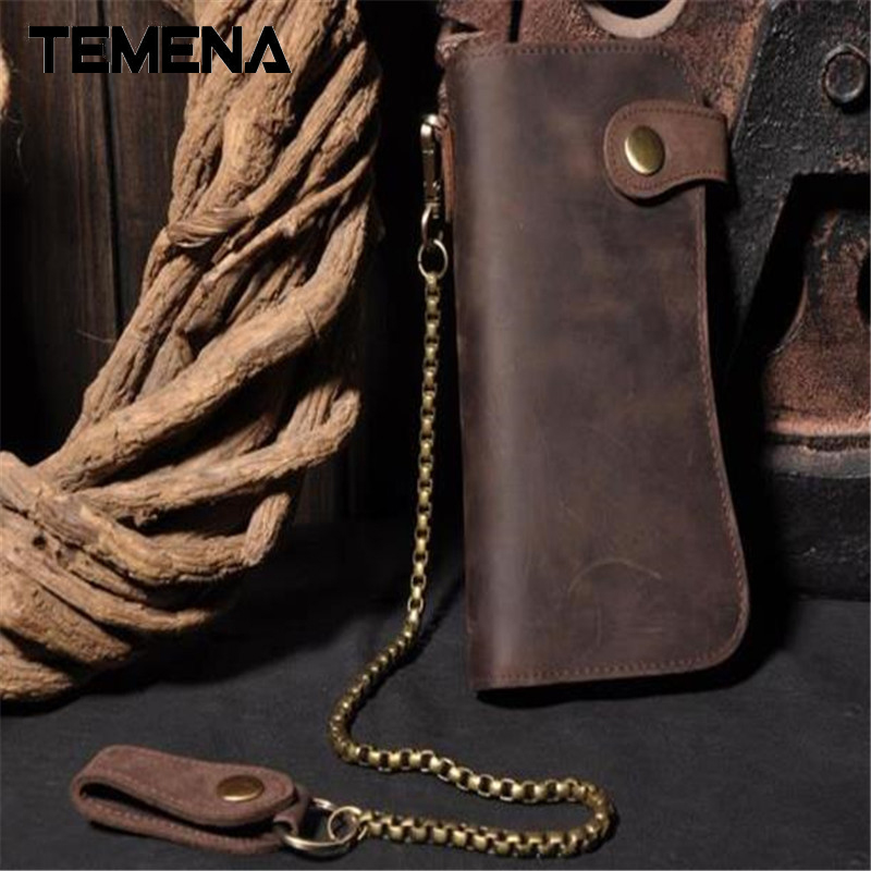 Men Genuine Leather Wallet High Quality Men's Long Brown Wallet Purses Card Holder Male Clutch Bags AWL006 2016 famous brand new men business brown black clutch wallets bags male real leather high capacity long wallet purses handy bags