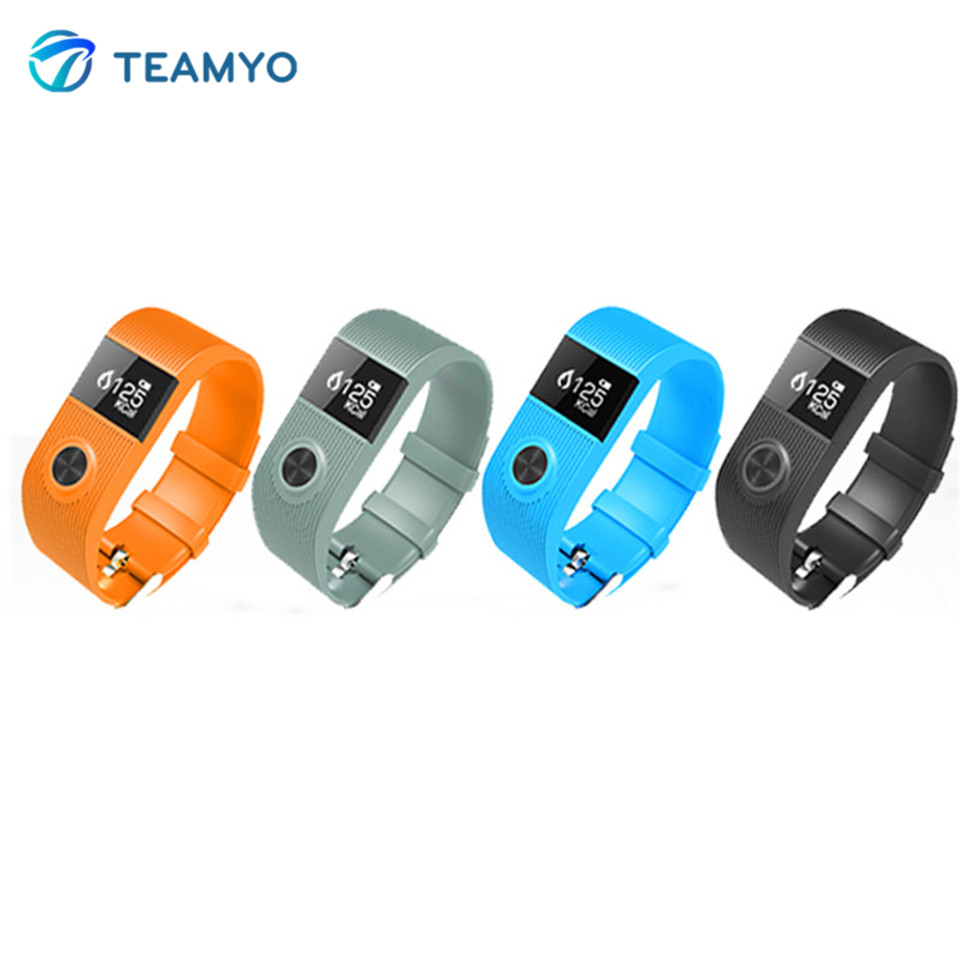 Teamyo SX101 Smart Wristband Heart Rate Sleep monitoring Smart Bracelet Waterproof Fitness Tracker Pedometer Sport Smartband