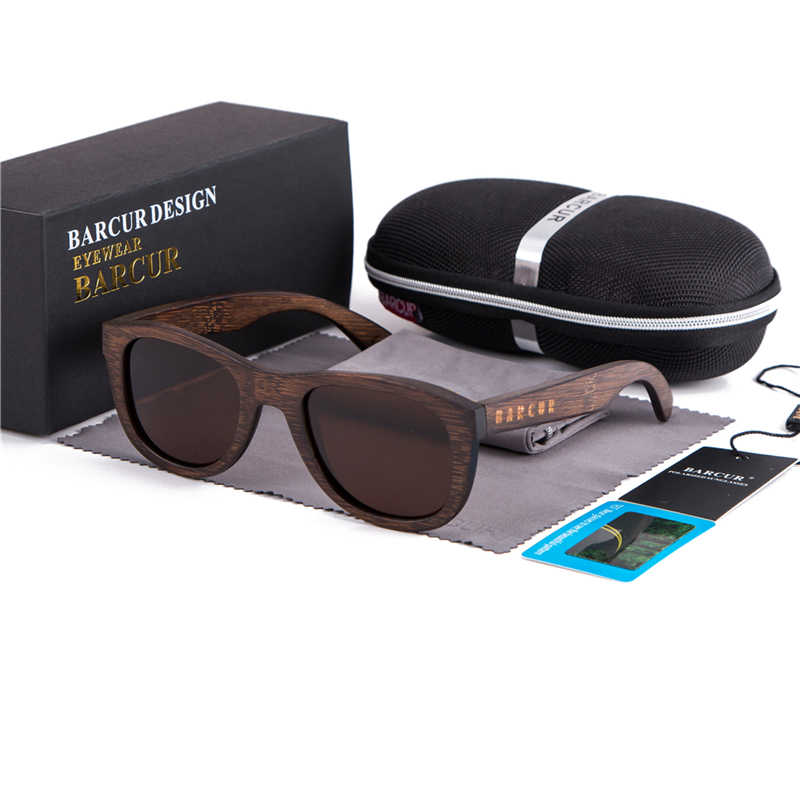 dadf638757 Detail Feedback Questions about BARCUR Brown Glasses Retro Wood Eyewear Men  Bamboo Sunglasses Women Goggles Unisex Sun Glasses with case Eyewear Oculos  on ...