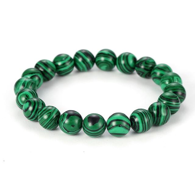 Bracelet Perle Vert