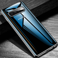 High Transparent Case For Samsung A50 A7 2018 A9 Note8 Note9 Cover Soft TPU For Iphone 8 Plus 7 Plus Case For Iphone X 6S Coque(China)