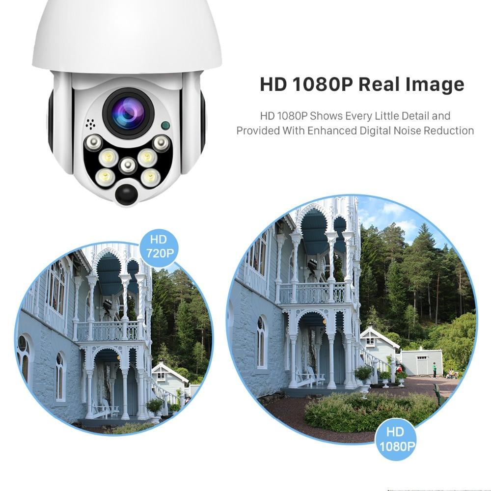 HTB1Ay2lJ9zqK1RjSZPcq6zTepXaY BESDER 1080P Cloud Storage Wireless PTZ IP Camera 4X Digital Zoom Speed Dome Camera Outdoor WIFI Audio P2P CCTV Surveillance