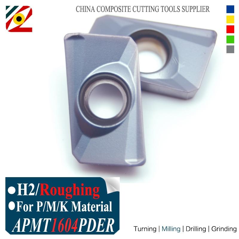 Inserti in metallo duro EDGEV APMT1604 PDER H2 EP5250 per macchina CNC fresa fine indicizzabile