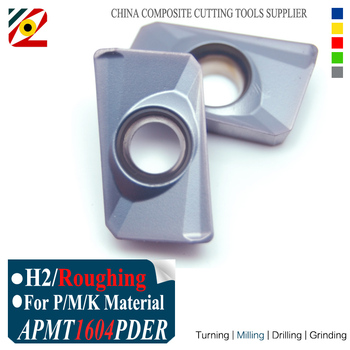 EDGEV APMT1604 PDER H2 EP5250 Milling Carbide Inserts for Indexable End Mill Cutter CNC Machine emr c20 4r21 200 indexable face milling cutter tools for rpmt0802moe carbide inserts suitable for nc cnc machine