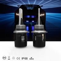 JKCOVER H7 LED H4 LED H1 H3 H11 H13 9004 9005 9007 60W 8400LM 6000K Car Headlight Front Fog Light Bulb car Headlamp LED