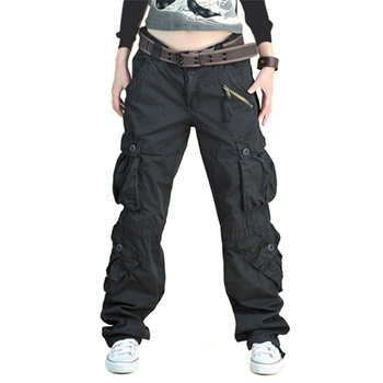 Full Length Hip Hop Military Trouser