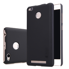 Nillkin frosted case for xiaomi redmi 3 pro prime case 5 hard plastic back cover with