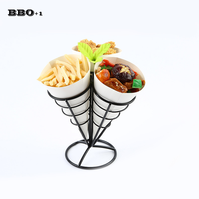 1sets Western Cafe Bar KTV dessert pastry basket of fried chicken snack Chips Fry Basket Serving Food French Fries Basket