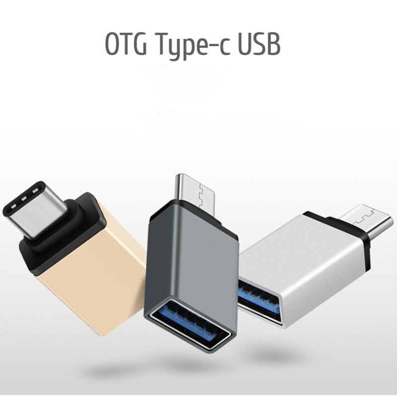 New Type-C to USB Adapter OTG Converter USB 3.0 Convert to Type C USB-C Port Adapter Charging Sync for MacBook Pixel Lumia bicycle pedal