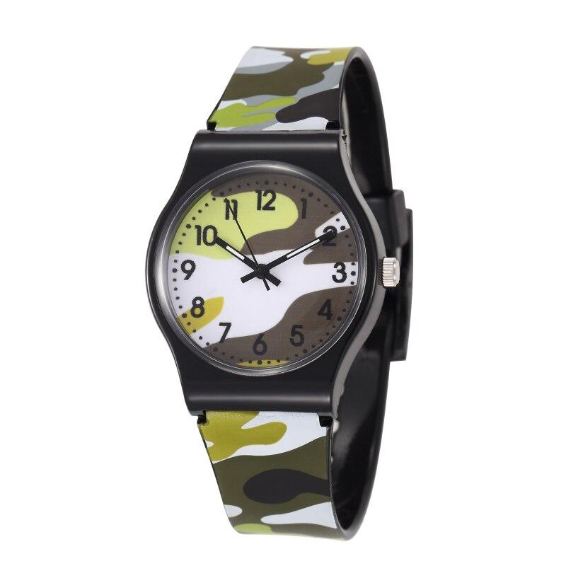 Waterproof Kids Watches Children Sports Quartz Wristwatch Cartoon Military Child Boys Clock Relogio Infantil Reloj Montre Enfant
