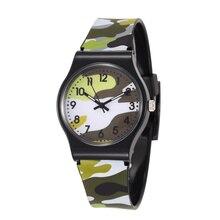 Waterproof Kids Watches Children Sports Quartz Wristwatch Cartoon Military Child