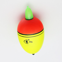 Electronic luminous drift, sea fishing, EVA float rocky sea fishing rod floating ball, floated o wave, float, and heavily