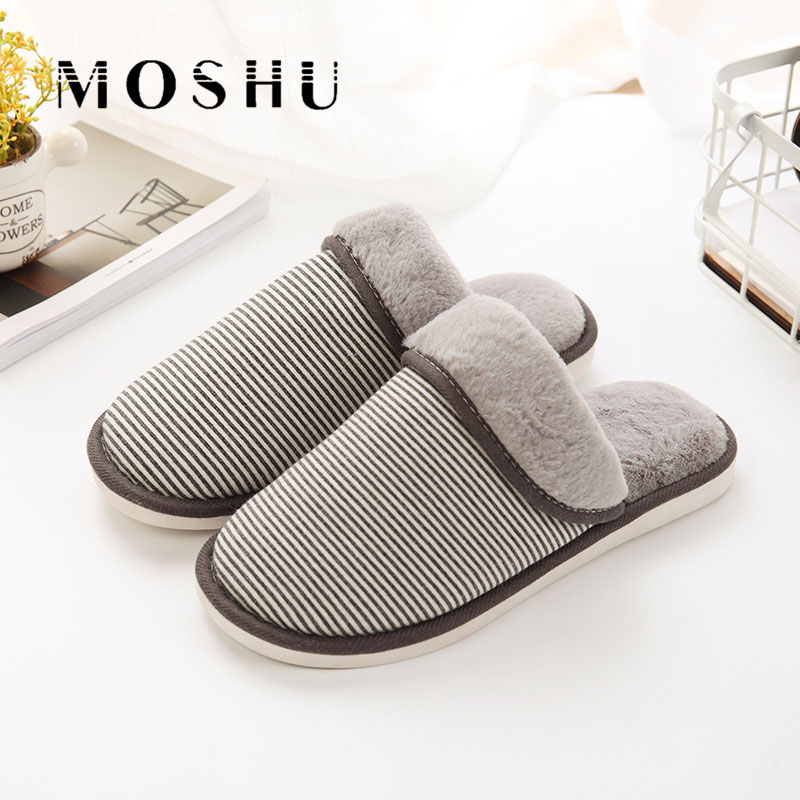 Design Fashion Men Slippers Home Indoor Plush Bedroom Slippers Shoes Comfortable Fur Slides Zapatos Hombre designer fluffy fur women winter slippers female plush home slides indoor casual shoes chaussure femme