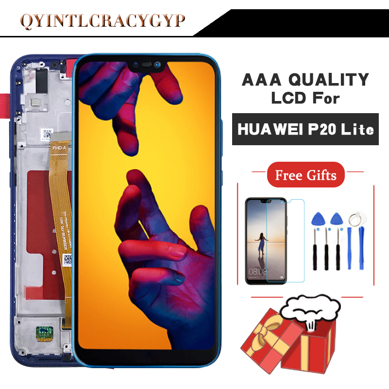 Original screen For Huawei P20 lite LCD Display Touch Screen Digitizer Assembly Replacement For HUAWEI NOVA 3E LCD DisplayOriginal screen For Huawei P20 lite LCD Display Touch Screen Digitizer Assembly Replacement For HUAWEI NOVA 3E LCD Display
