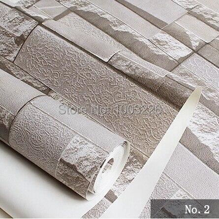 ФОТО beibehang Modern brick imitation stone PVC 3D volume brick background wallpaper for walls 3 d abercombrie men papel de parede