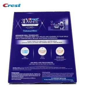 Image 5 - Crest 3D White LUXE Whitestrips Teeth Whitening 1 Boxes=20 Pouches/40Strips Original Professional Effects Dental Oral Hygiene