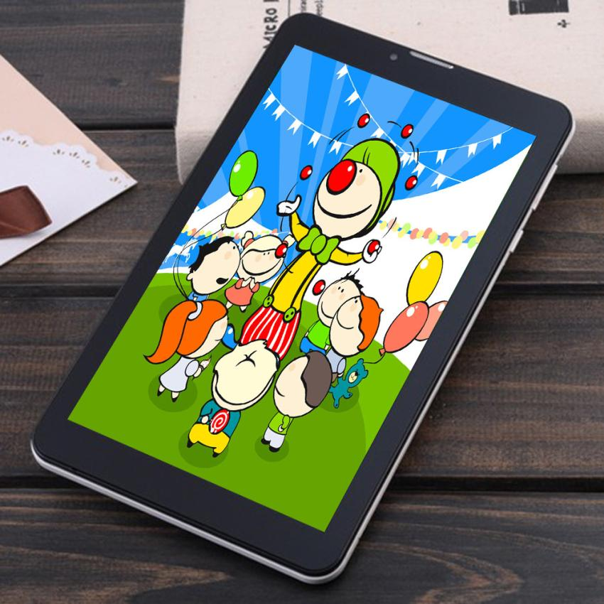 ФОТО Good Sale Kids Tablet PC 7'' Dual Core Android 4.4 8GB Dual Camera 1.2Ghz Wi-Fi Feb 22