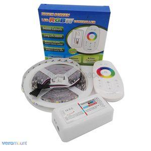Image 5 - 5m 12V 5050 RGBW RGBWW LED Strip IP20 IP65 IP67 Waterproof Stripe Set + 2.4G RGBW Remote Controller + DC12V 5A Power Adapter Set