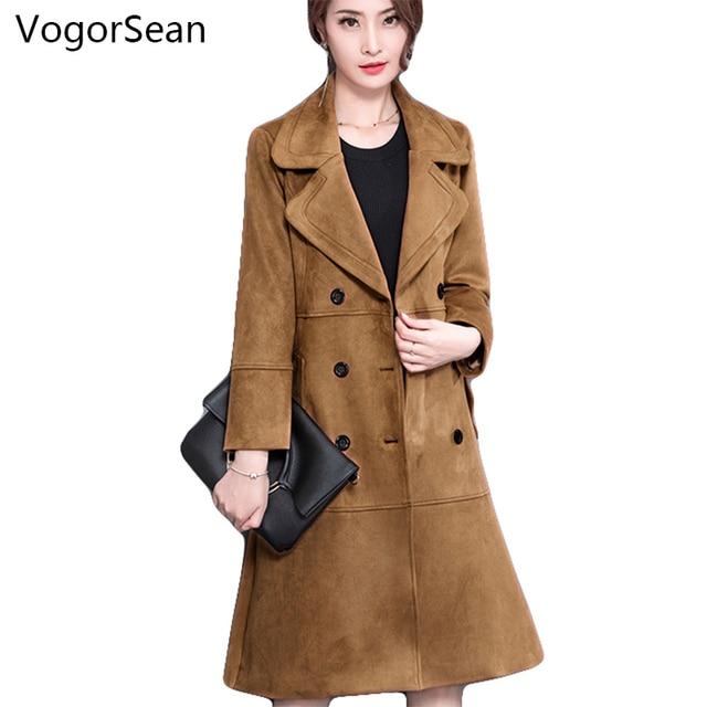 VogorSean Women Autumn Winter Wool Coats Jackets Long Poncho Coats ...