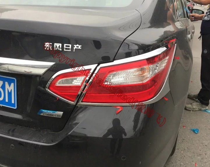 Abs Chrome Tail Light Cover Trim For Nissan Altima 2016 2017 In Chromium Styling From Automobiles Motorcycles On Aliexpress Alibaba Group