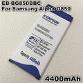 4400mAh EB-BG850BBE Battery for Samsung Galaxy Alpha G850F / G8508S / G8509V / G850 / G8508 / G850T / G850V / G850M Battery