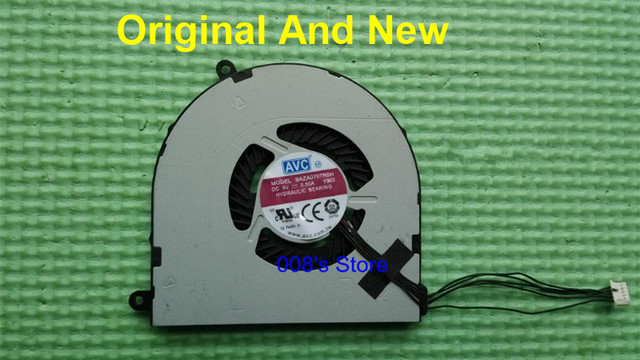 100% original novo cpu notebook cooler fan para lenovo thinkpad e550 e555 baza0707r5h avc dc 5 v 0.50a y003