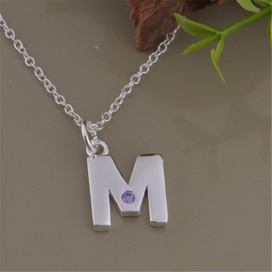 Popular M NecklaceBuy Cheap M Necklace Lots From China M Necklace - M