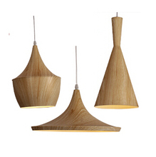 3pcs/Set Black/White/Gold/Red/Wood Pendant lamp England Beat Musical Instrument ABC Hanging Pendant Light Lamp Dining Room Light