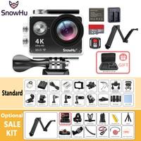 New Arrival Original SnowHu H10R Ultra HD 4K Action Camera 30m waterproof 2.0' Screen 1080p sport Camera go extreme pro cam H10R
