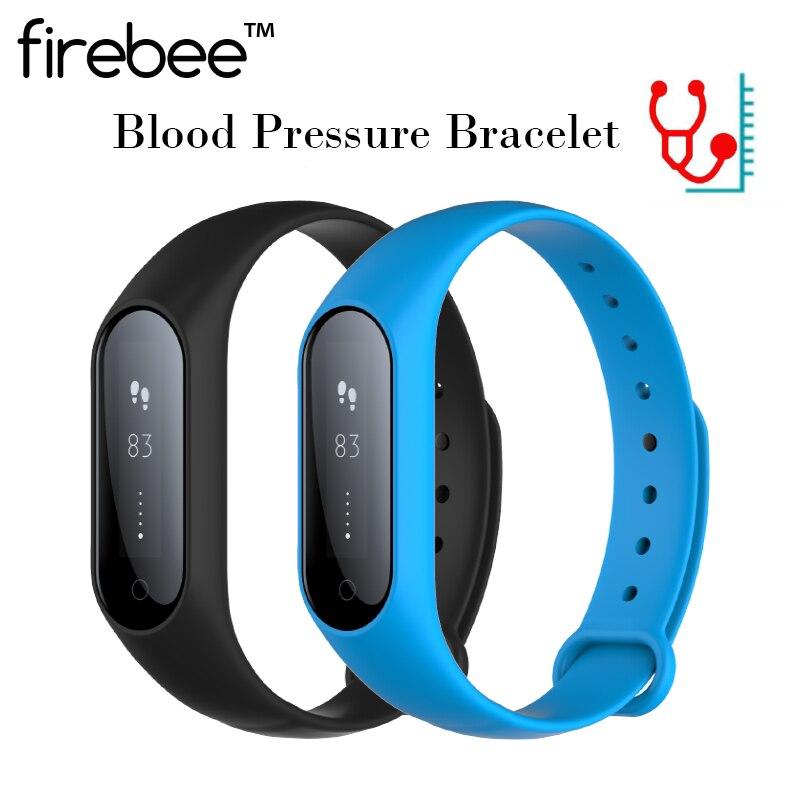 bilder für Firebee V6 HR Smart Armband Smart blutdruck Blutsauerstoffsättigung Hören Rate Monitor Smart armband Für ios 7.1 Android 4.4