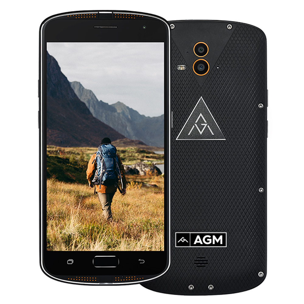 AGM X1 IP68 Waterproof Smartphone 5 5 FHD 4G Snapdragon 617 4GB 64GB 13MP 5400mAh Fingerprint