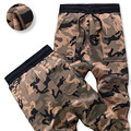 Winter Sweatpants Men Army Military Camouflage Joggers Elastic Waist Thick Warm Trousers Casual Outwear Hip hop Dancing Jogger