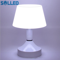 SOLLED Creative Energy Saving USB Charging Switch On Off Night Table Desk Light Lamp Living Room