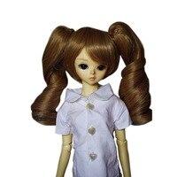[Wamami] 97 # lanh ngắn tóc giả & Pin Với Shipping sóng tóc cho 1/4 MSD AOD DOD DZ BJD dollfie 7
