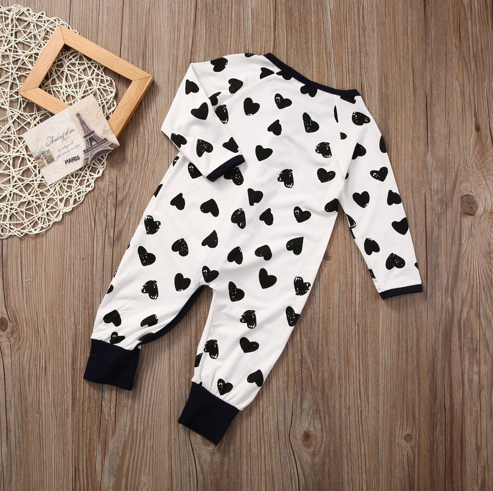 Pudcoco Baby boy Infant Zip up Sleeper heart Print Long Sleeve Sleep and  play suit-in Blanket Sleepers from Mother   Kids on Aliexpress.com  5d6ab55b1