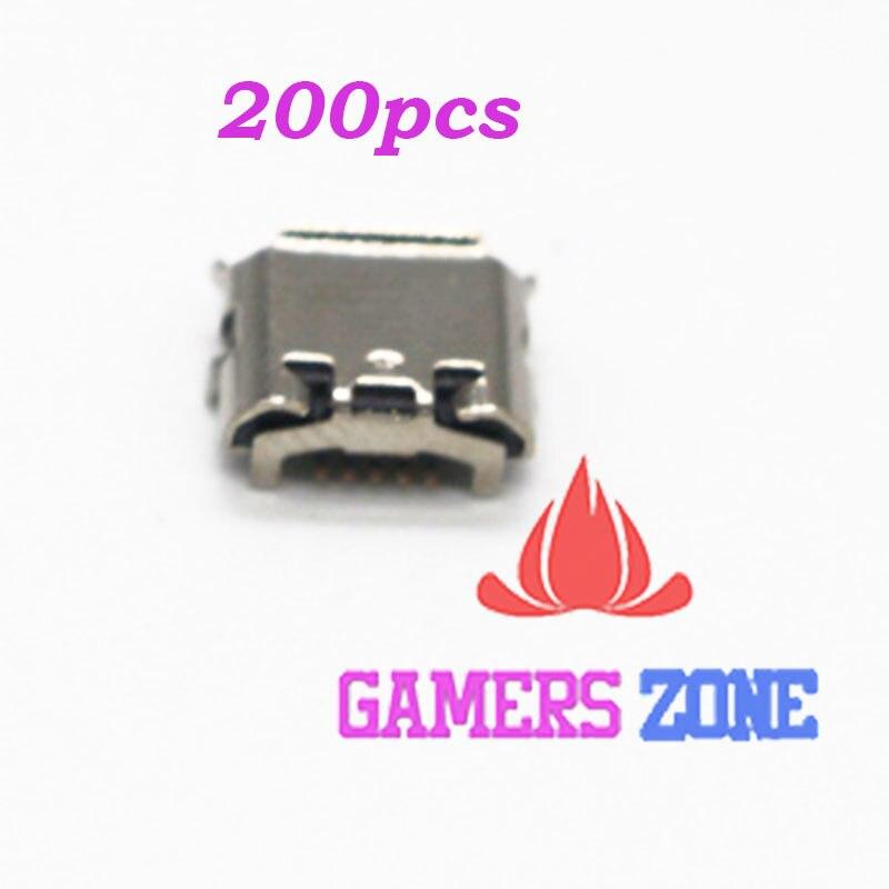 200 Stücke Für Sony Playstation Ps4 Dualshock 4 Controller Usb-ladeanschluss Anschluss Steckverbinder StäRkung Von Sehnen Und Knochen Ersatzteile & Zubehör Videospiele