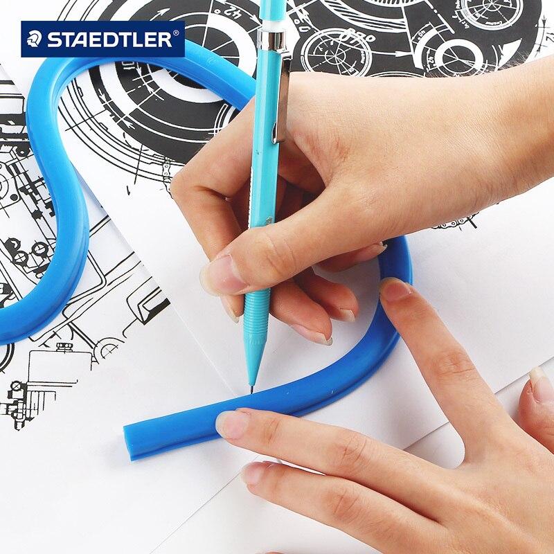 Drawing Design Curve Ruler 30-60CM Arbitrary Angle Snake Ruler