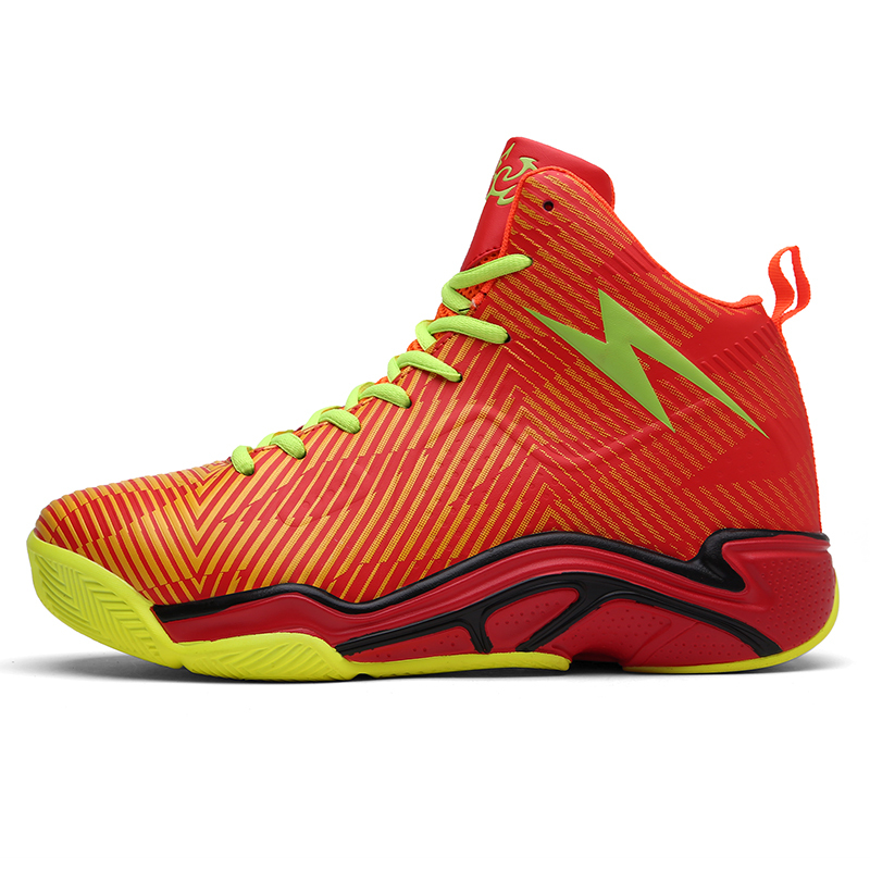 bright basketball shoes