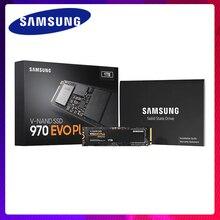 Samsung внутренний SSD 970 EVO Plus 250 GB 500 GB 1 ТБ твердотельный жесткий диск NVMe M2 PCIe 3,0×4 NVMe 1,3 частичное для портативных компьютеров