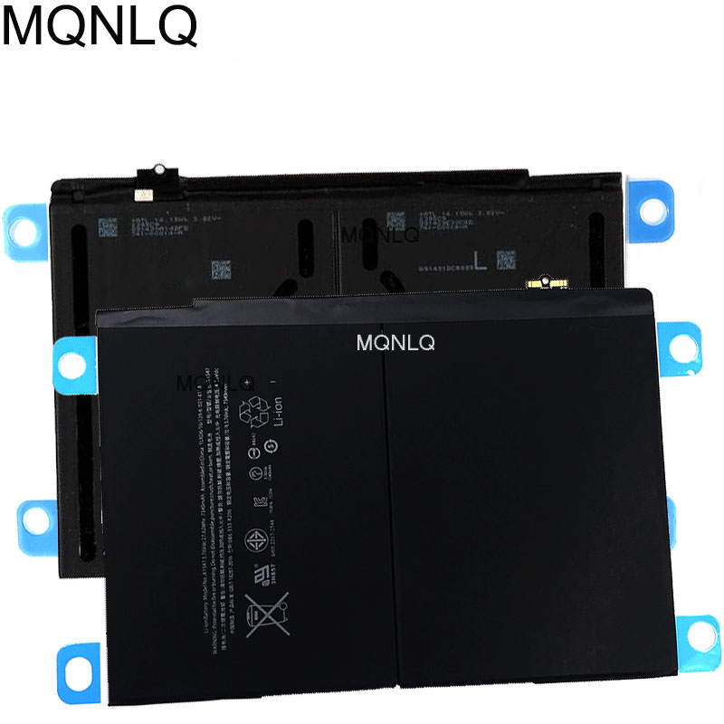Real 7340mAh A1547 Replacement <font><b>Battery</b></font> For i pad 6 Air 2 A1566 A1567 0 Cycle <font><b>Battery</b></font> MQNLQ image