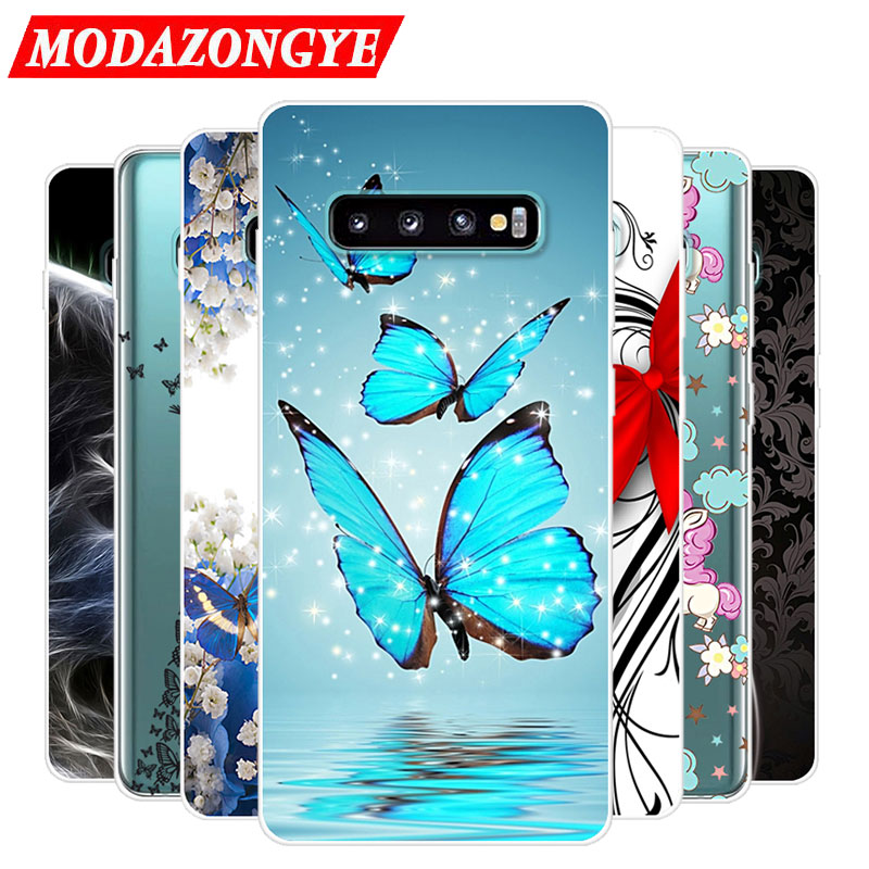 For Samsung Galaxy S10 Case S10plus Case Silicone Tpu Protective Cute Cover Soft Phone Case For