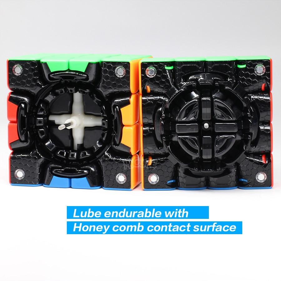 GAN 460 M Cube magnétique 4x4 Cubes magiques 4x4x4 Gan 460 M vitesse Gan460 M Cubo Magico 4*4 Puzzle professionnel sans colle Gan Cube - 6