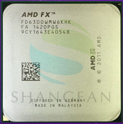 AMD FX-Series FX6300 3.5GHz SIX-Core CPU Processor FX 6300 FD6300WMW6KHK 95W Socket AM3+AMD FX-Series FX6300 3.5GHz SIX-Core CPU Processor FX 6300 FD6300WMW6KHK 95W Socket AM3+