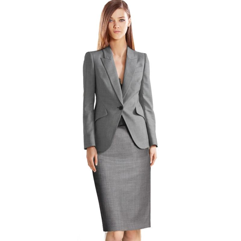 OL Work Office Lady Dress Suits 2 Two Piece Sets Elegant Women Blazer Jacket + Fashion Sheath Dresses suit Femme Price $97.95