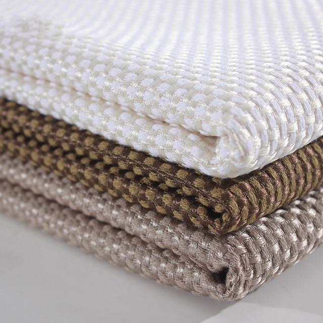 Wrap Plaid Blackout Fabric For Curtains Pillows Sofa Covers Cushions