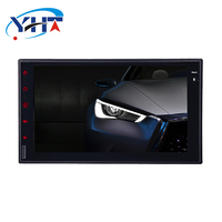 Double Din Touch Screen Pure Android 7.1 Car DVD Player GPS Stereo Radio Dual Core 1GB CPU 2 din Multimidia