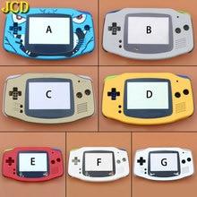 JCD 1 PCS Full Set Gehäuse Shell Fall Abdeckung + Bildschirm Objektiv Protector + Stick Label für Gameboy Advance GBA konsole