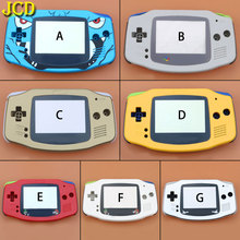 JCD 1PCS Full Set Housing Shell Case Cover + Screen Lens Protector + Stick Label for Gameboy Advance GBA Console